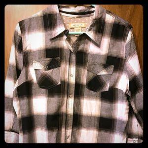 Womans juniors Arizona flannel shirt